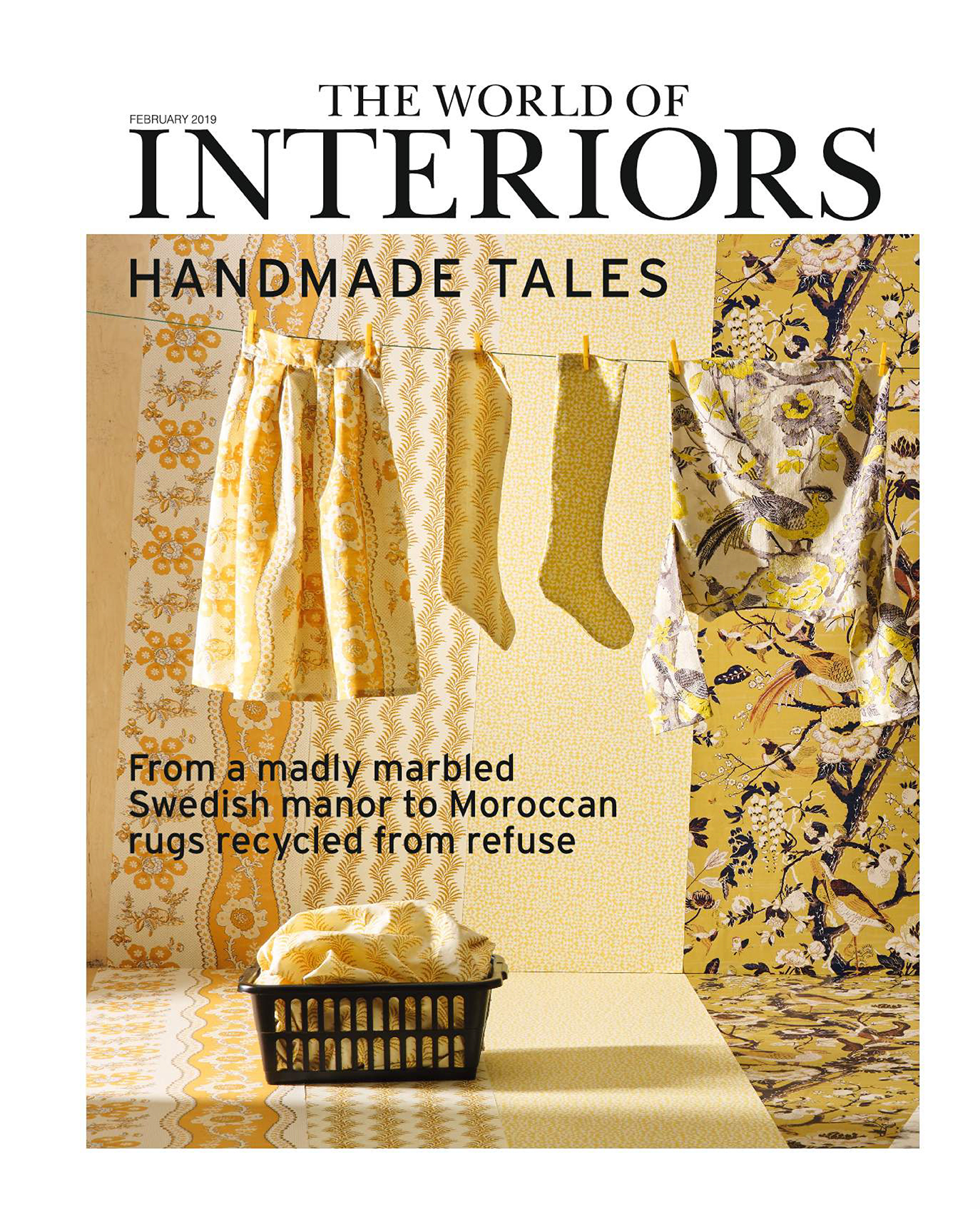 The World of Interiors Front Cover February 2019