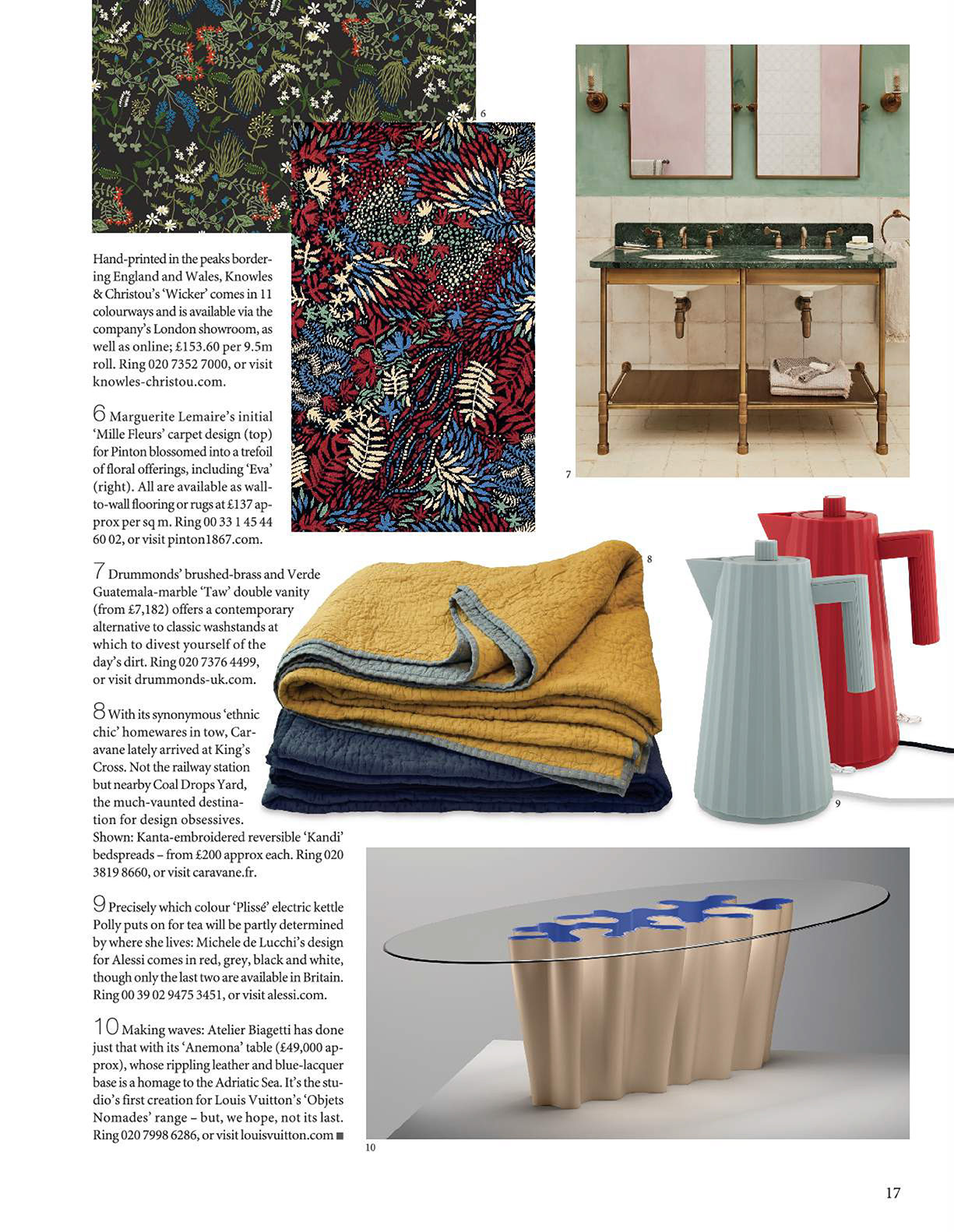 The World of Interiors Wicker feature p2 February 2019