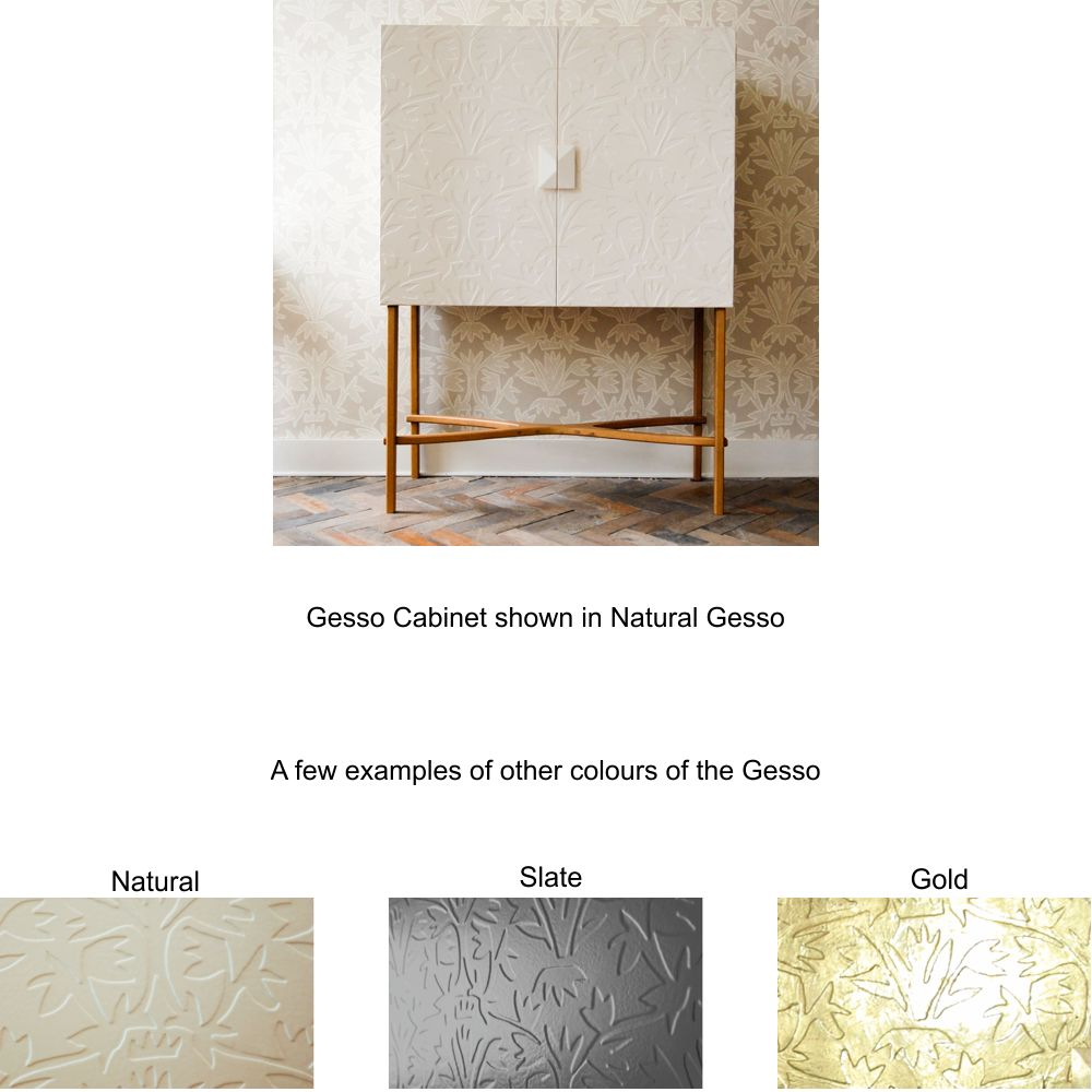 Hand made furniture Gesso