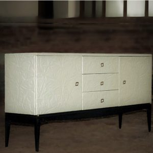 gesso sideboard WITH DRAWER (2)